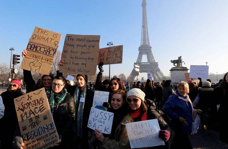 """La """"Marcha de las Mujeres"""" se repite en ciudades de todo el mundo"""
