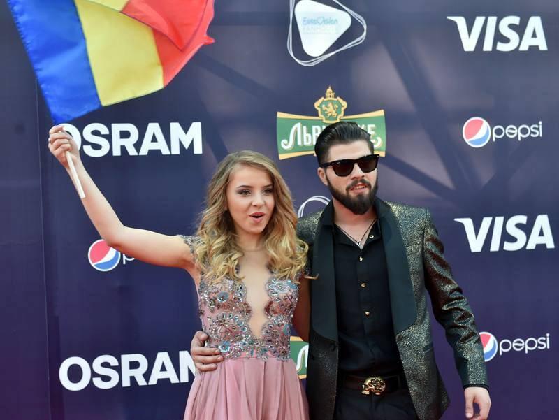 Ilinca Bacila y Alex Florea, candidatos de Rumanía en Eurovisión 2017