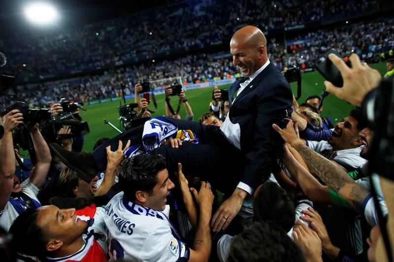 El Real Madrid celebra su 33ª Liga