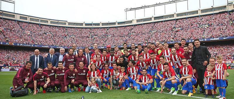Despedida del Vicente Calderón