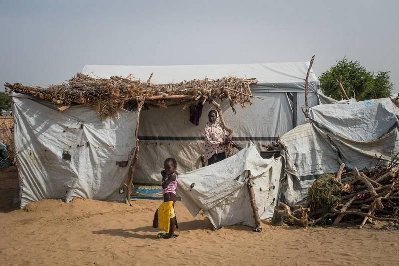 Campo de Dar es Salaam, en Chad