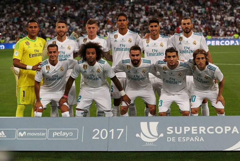Once titular del Real Madrid con Asensio y Lucas Vázquez como novedades.
