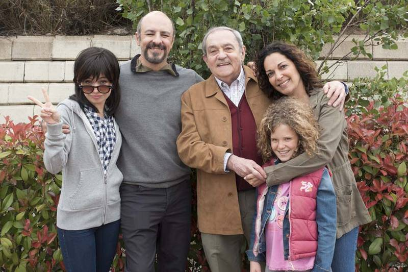 La familia Vargas al completo