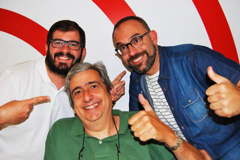 Jorge Duato, Emilio Arroyo y Manu Martínez.