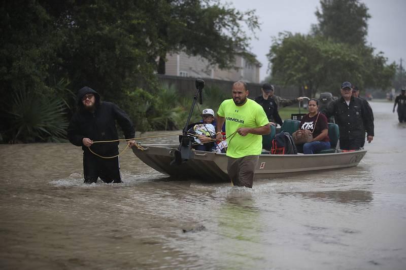 A lo largo de los próximos días pueden registrarse lluvias de entre 400 y 500 litros por metro cuadrado.