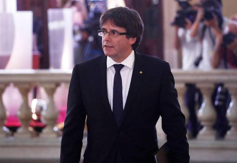 El presidente de la Generalitat ha retrasado su discurso una hora