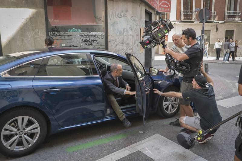 Las calles de Madrid cortadas para el inspector Márquez