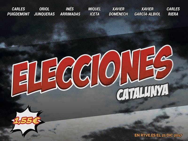 El cómic del 21-D   Elecciones en Cataluña