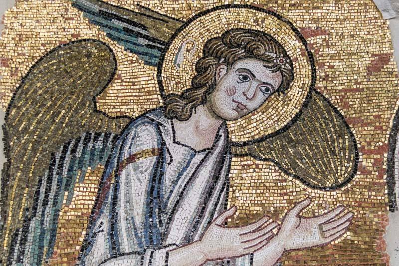 Una de las obras de la Basílica