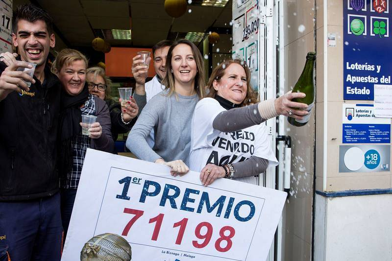 El Premio Gordo de la Lotería de Navidad llega a Málaga