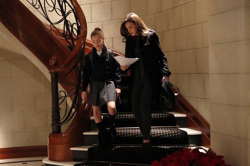 La reina Letizia y su hija la infanta Sofía salen de Zarzuela para ir al colegio Santa María de los Rosales