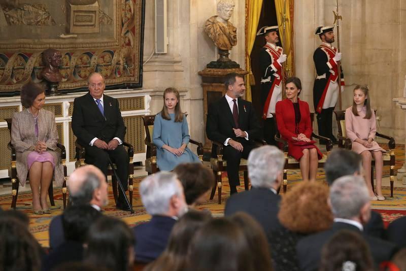 Felipe VI en su 50 cumpleaños impone hoy el Toisón a la Princesa Leonor