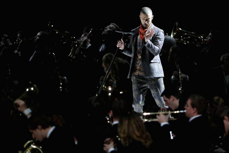 El público enloquece con la actuación del cantante Justin Timberlake