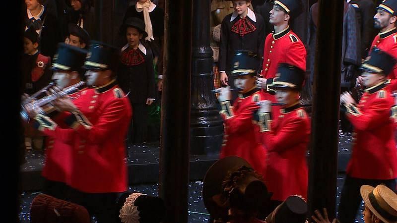 Representación en el Teatro Real