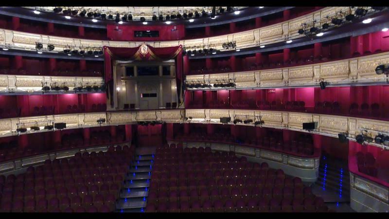 Patio de butacas, Palco Real y palcos del Teatro Real