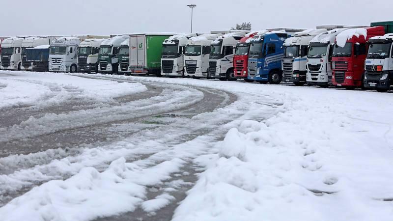 La Generalitat ha prohibido el tráfico de camiones en Cataluña