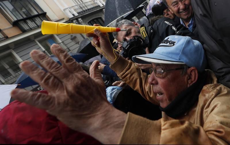 Movilizaciones en defensa del sistema público de pensiones