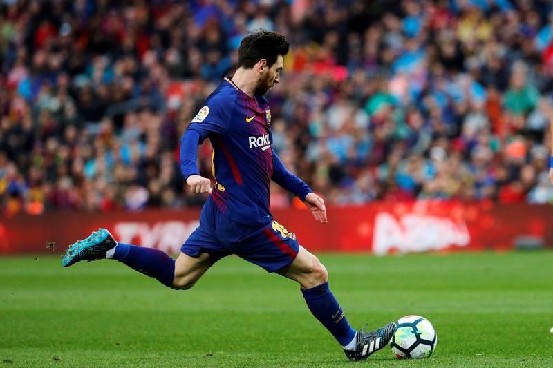 El golpeo magistral de Messi es una de sus armas más peligrosas.