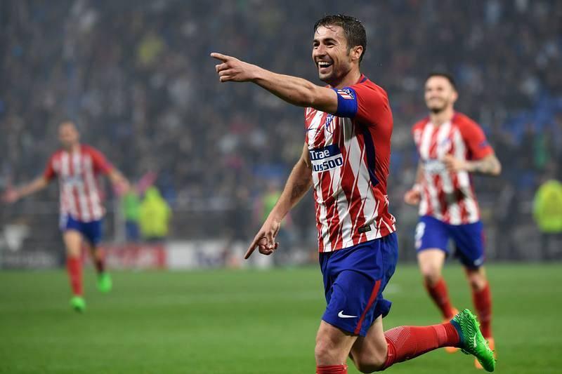 Gabi celebra el tercer gol, que sentenció la final.