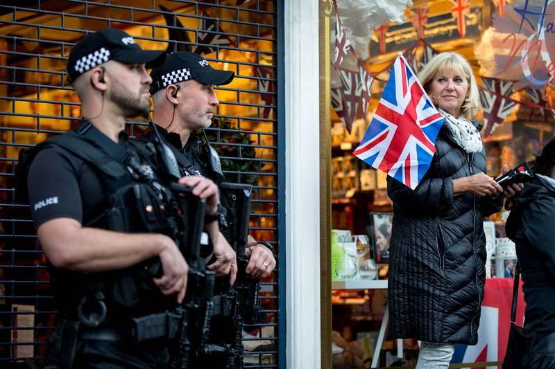 Fuertes medidas de seguridad durante la boda real británica