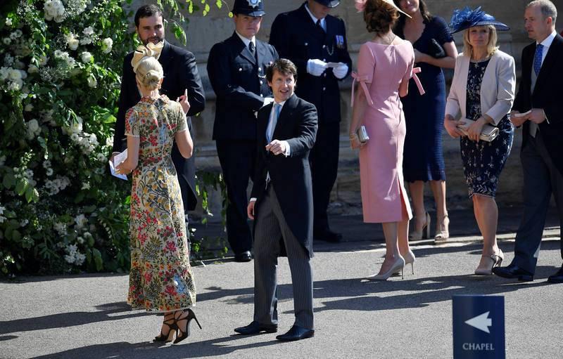 El cantante James Blunt, uno de los invitados a la boda