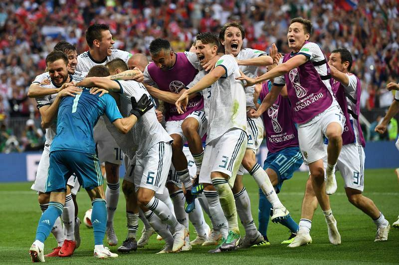Las mejores imágenes del España-Rusia del Mundial 2018