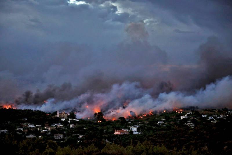 Muchas de las víctimas han sido halladas en el área comprendida entre el puerto de Rafina, a unos 30 kilómetros de Atenas.