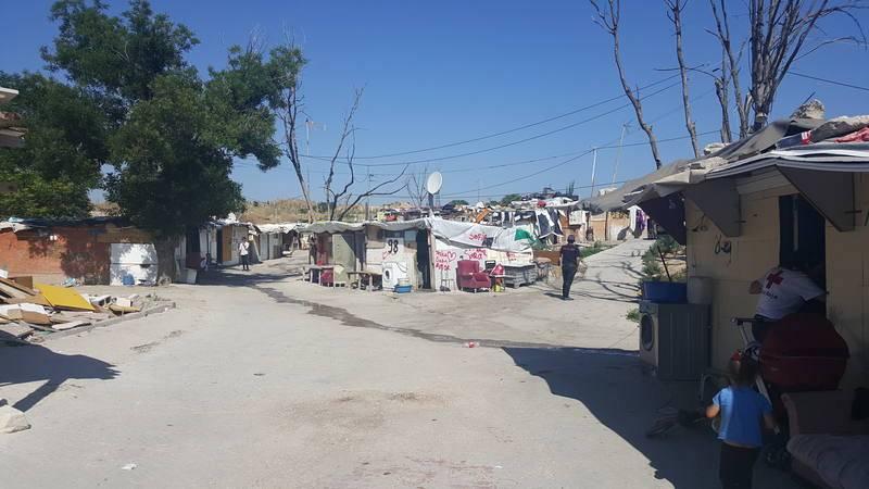 Calle principal de El Gallinero