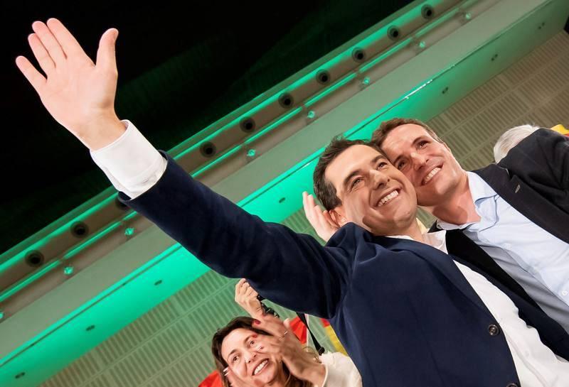 Cierre de campaña del PP en Sevilla