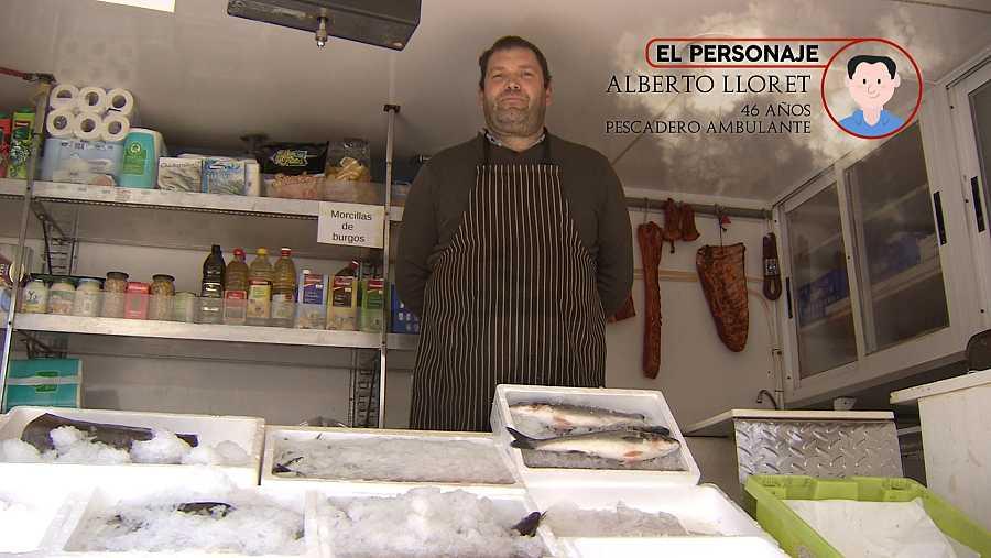 De ruta en la pescadería ambulante de Alberto
