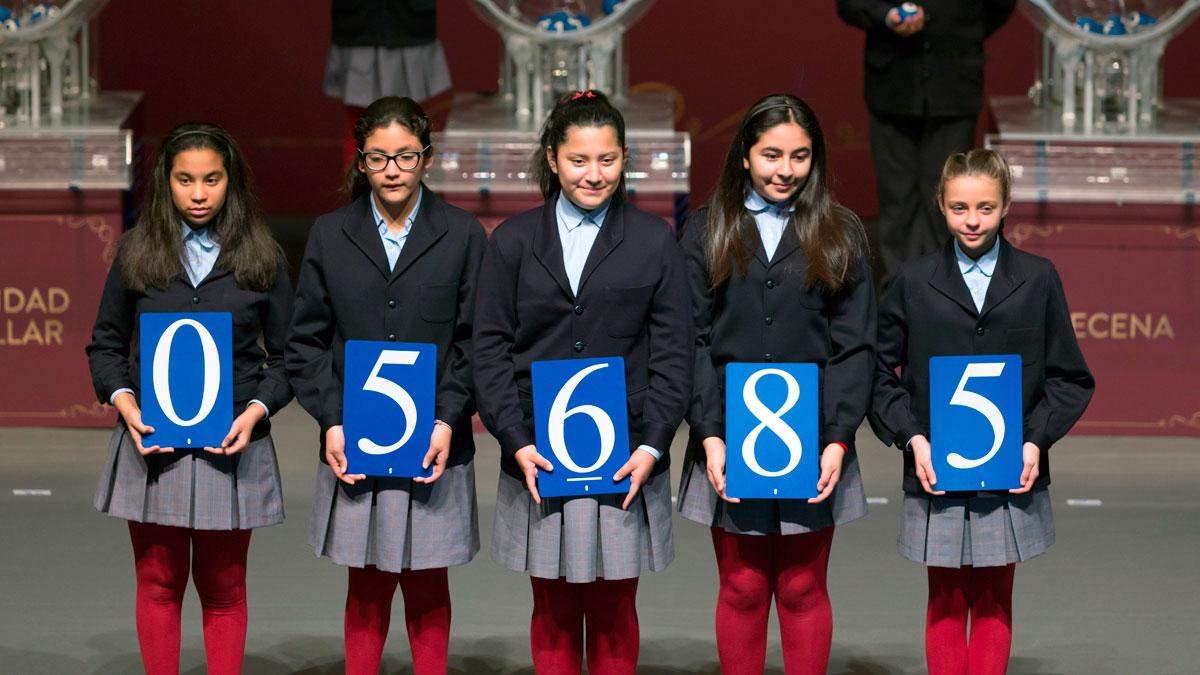 El 05.685, primer premio del Sorteo Extraordinario del Niño de 2018
