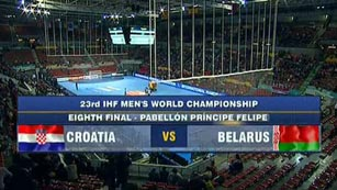 Mundial de Balonmano - 1/8 de final: Croacia - Bielorrusia