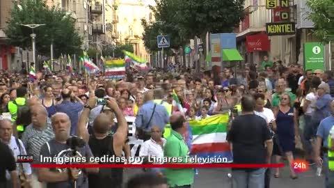 El 14/09/2017 más del 90% de Linares salió a la calle exigiendo un trabajo