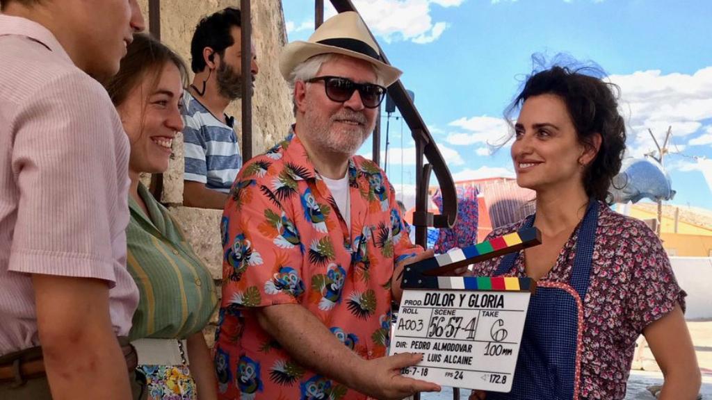 Almodóvar presenta su última película 'Dolor y gloria'