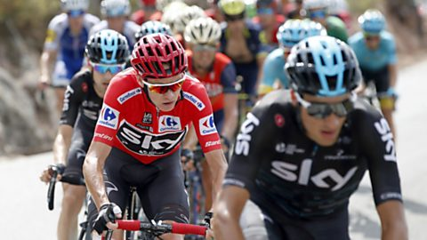 Vuelta Ciclista a España 2017 - 15ª etapa: Alcalá la Real - Sierra Nevada - Alto Hoya de la Mora (1)