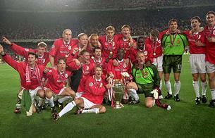 Final de la Champions 1999: Bayern de Múnich 1-2 Manchester United