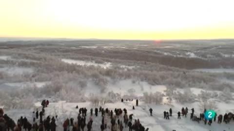 La 2 Noticias - Amanece en Murmansk
