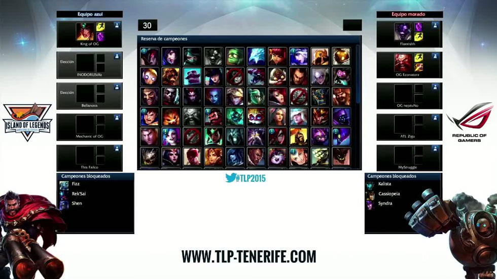 TLP Tenerife: 2ª Semifinal de League of Legends - Overgaming vs CoolLife