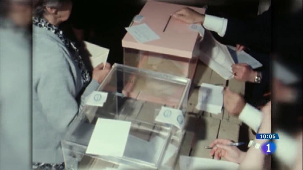 40 años de las primeras elecciones generales