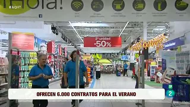 6.000 empleos de varias profesiones en supermercados de toda España