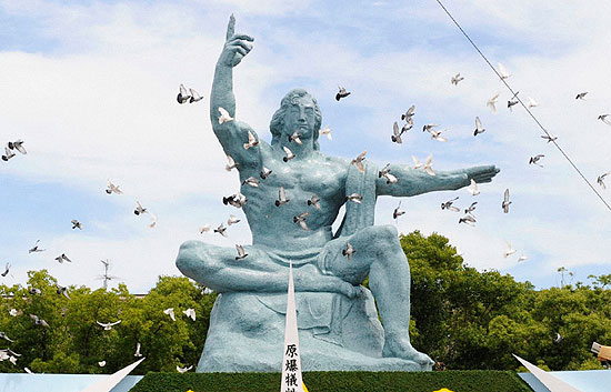 64 años de la bomba atómica de Nagasaki