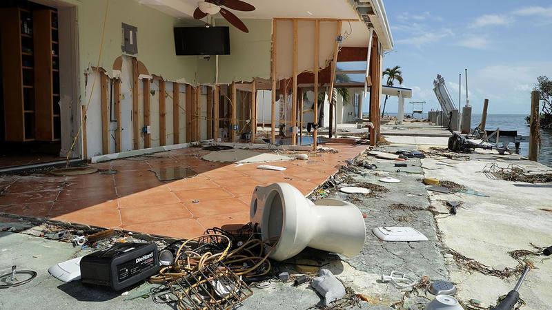 El 65% de las viviendas de Los Cayos tienen daños graves