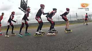 Patinaje de velocidad - 6hM Madrid 2013