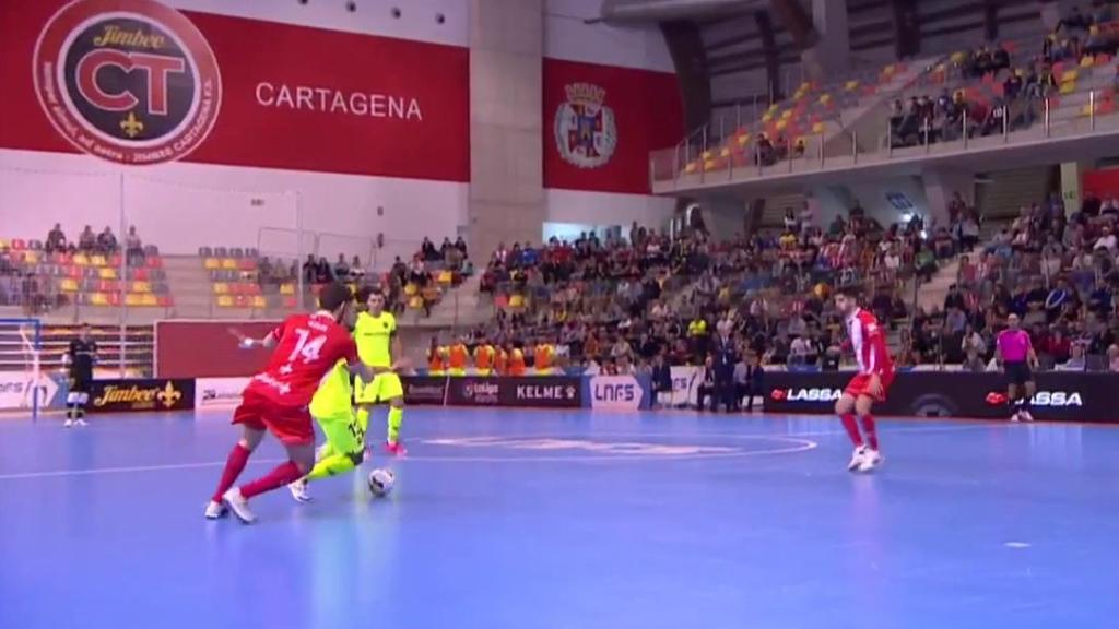 Fútbol Sala - Liga Nacional 8ª jornada: Jimbee Cartagena - FC Barcelona Lassa