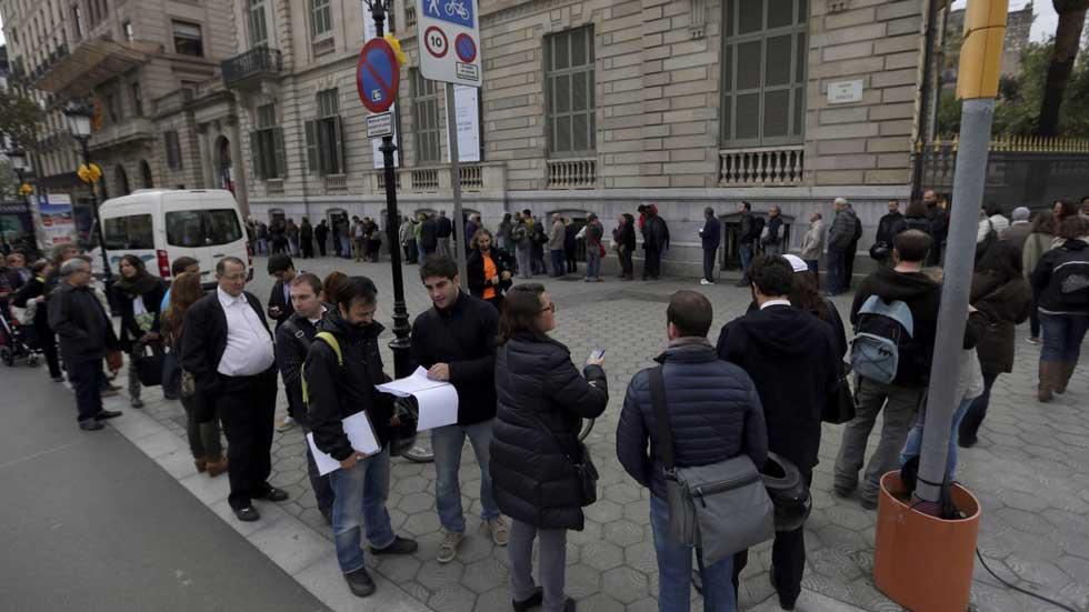 El 81% de los votantes de la consulta alternativa, 1,8 millones, apoyan la independencia de Cataluña