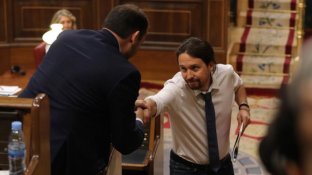 """Ábalos pone en duda el propósito de la moción y reprocha a Iglesias su """"interés partidista"""""""