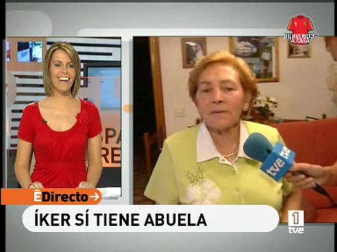 España Directo - La abuela de Íker Casillas nos recibe en su casa