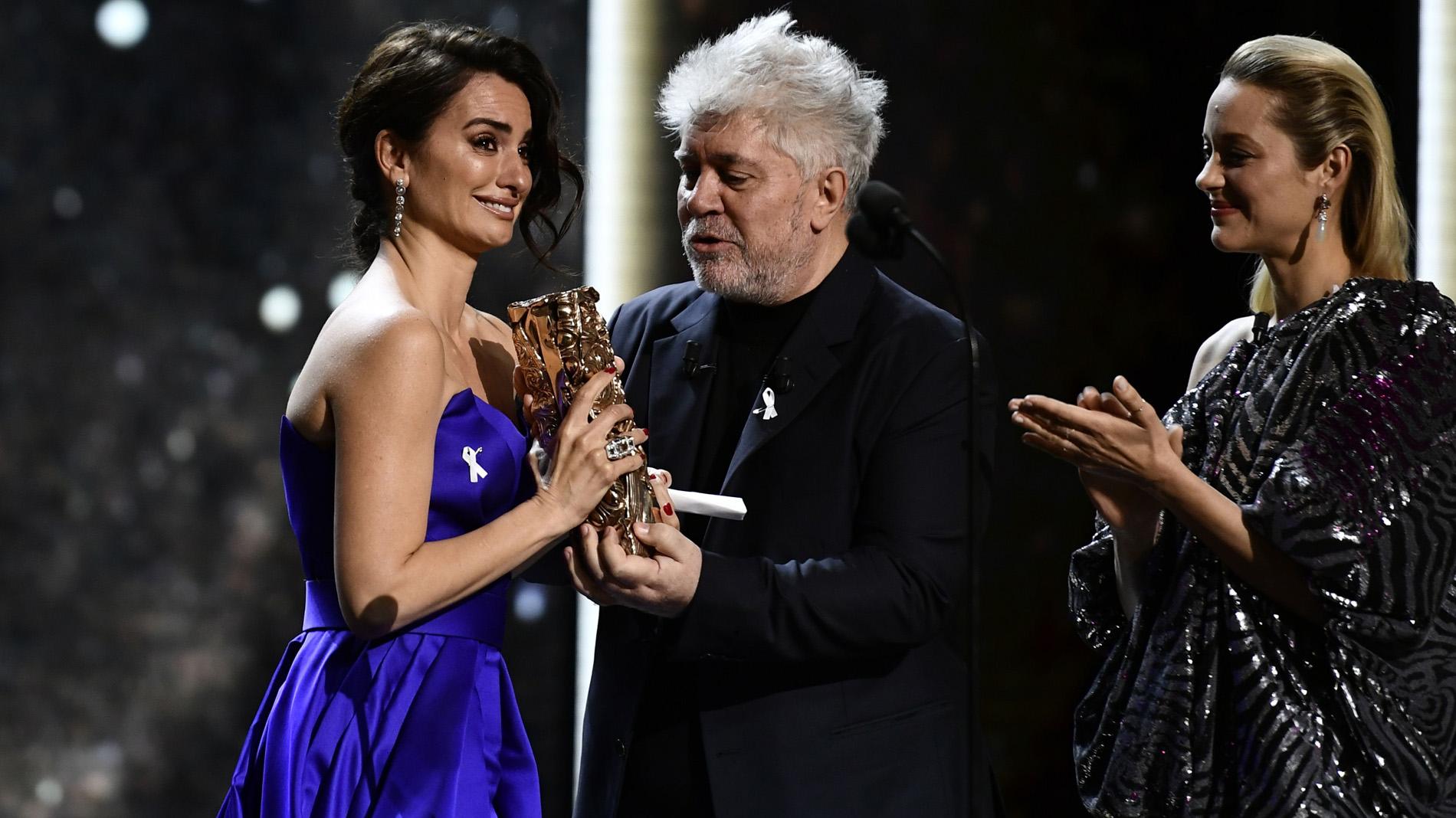 La Academia de cine francesa entrega a Penélope Cruz el César de Honor