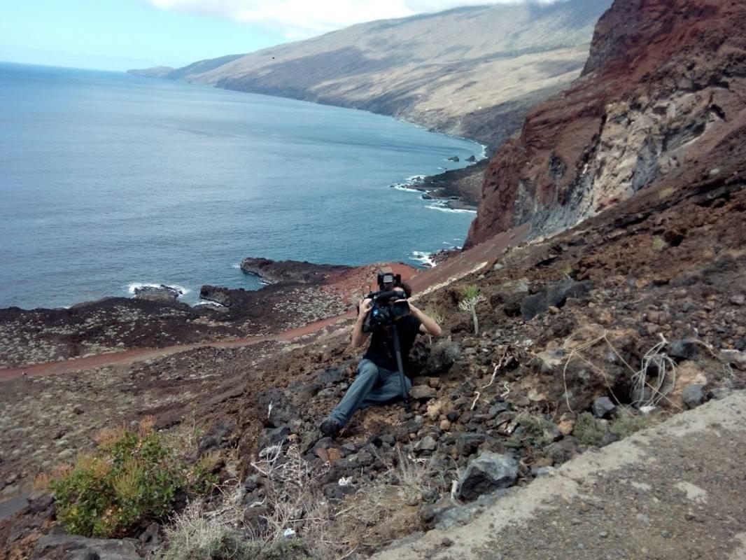 El acantilado de Tacom es un magnífico punto de avistamiento de zifios