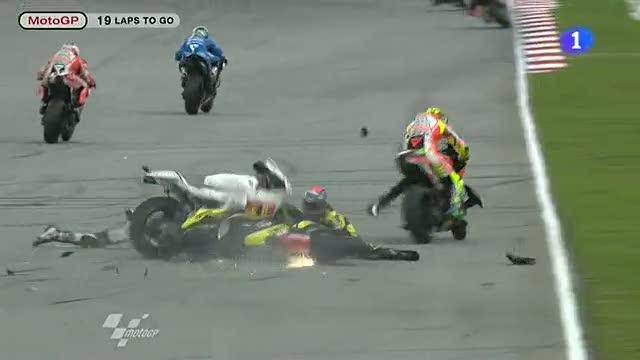 Accidente mortal de Marco Simoncelli